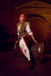 Shani | The Witcher 3 Hearts of Stone by Dzikan