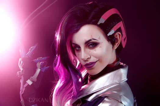 Sombra   Overwatch [Pt.2 Skull version] by Dzikan