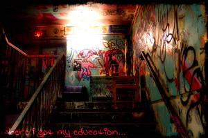 Where I got my education... by Gwyneira