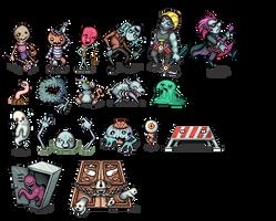 Evil Seed - Monsters by Cronus-Victor