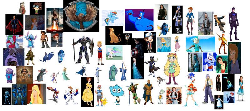 Disney And Non Disney Ravenclaw By Johnfanart101 On DeviantArt