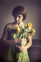 the silence of sunflower by EmilyaManole