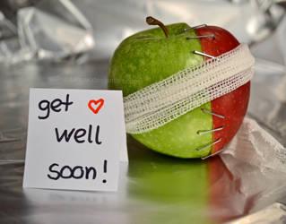get well soon by wolkentanzer