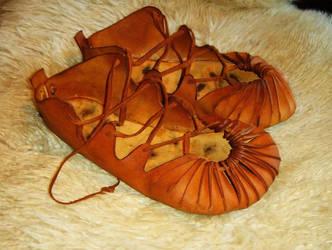 Dark Age Shoes by Shelford