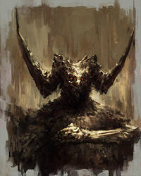 Demon Sketch 03 by ChrisCold