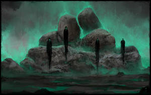 Haunted Stones by ChrisCold