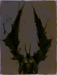 Demon Bat by ChrisCold