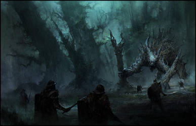 Tree Beast by ChrisCold