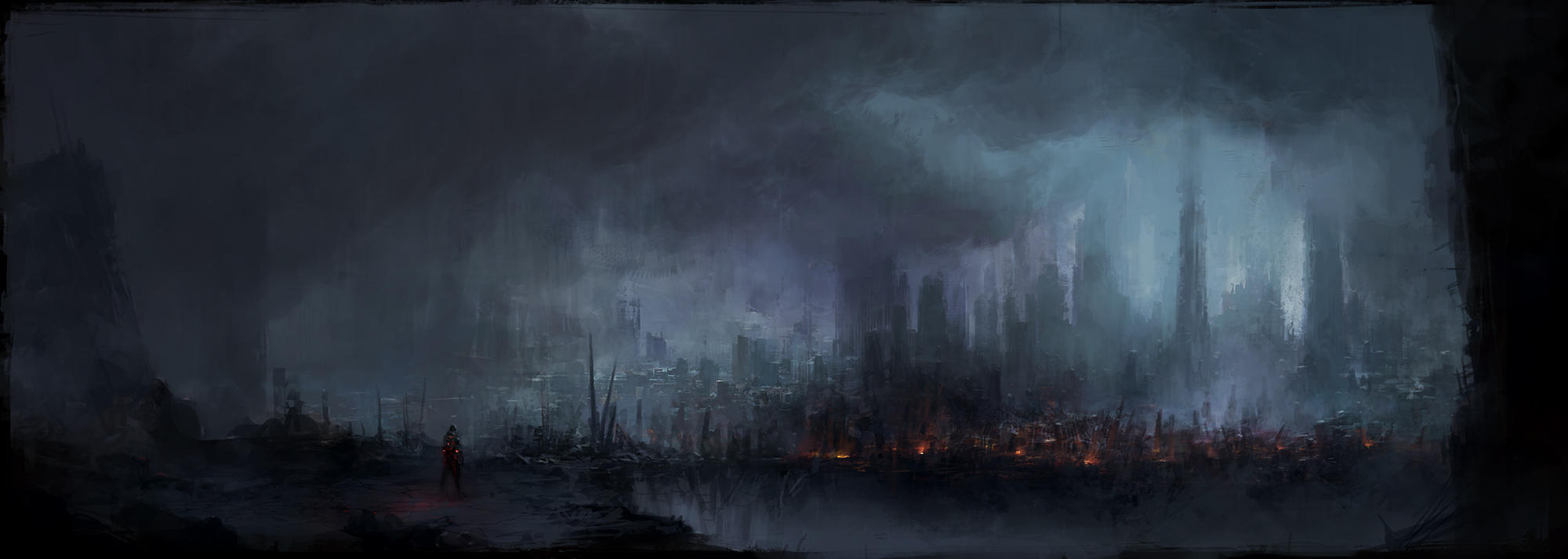 Silent City by ChrisCold