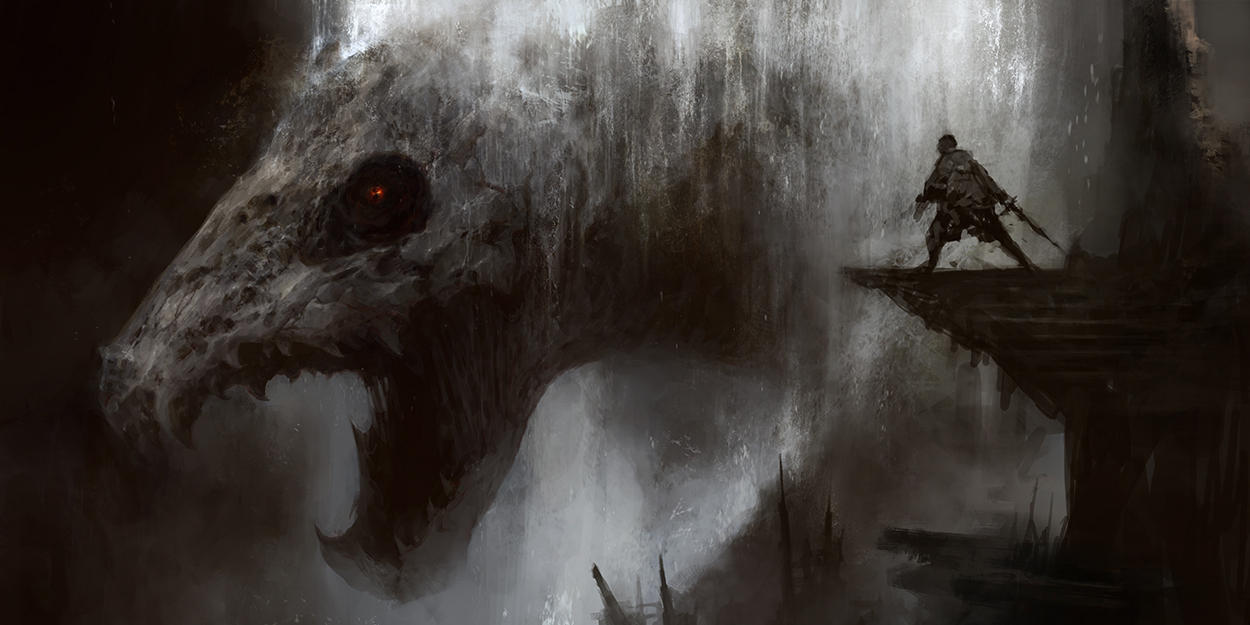 Necro Leviathan by ChrisCold