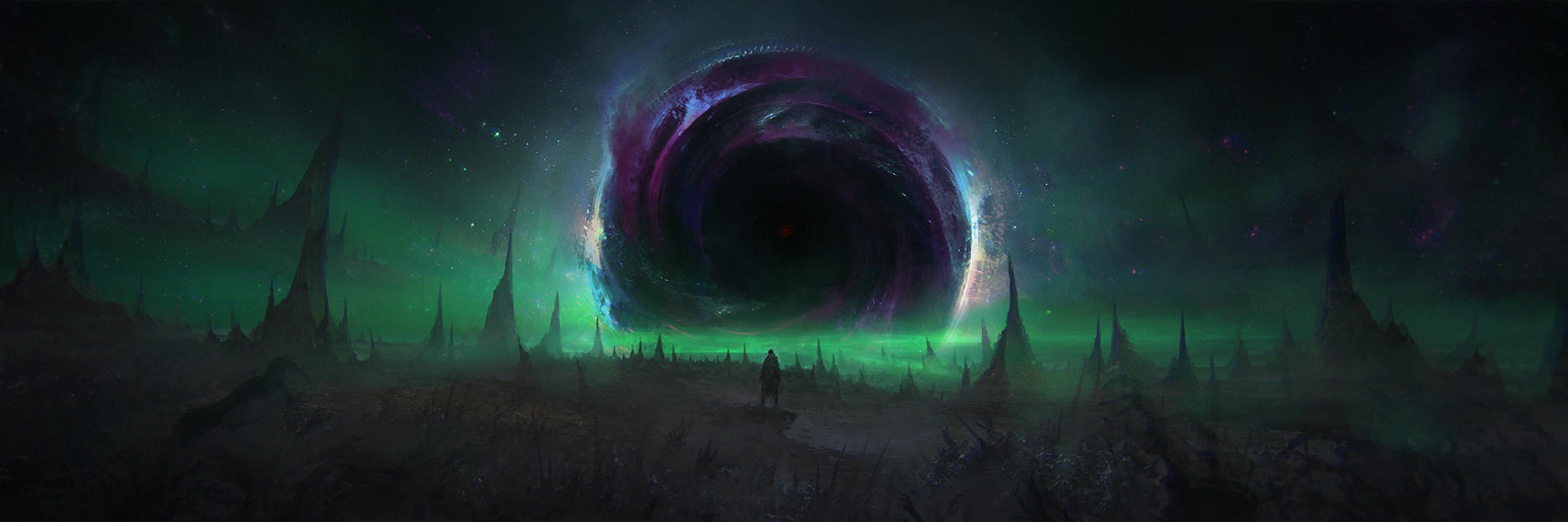 When The Abyss Stares Back by ChrisCold