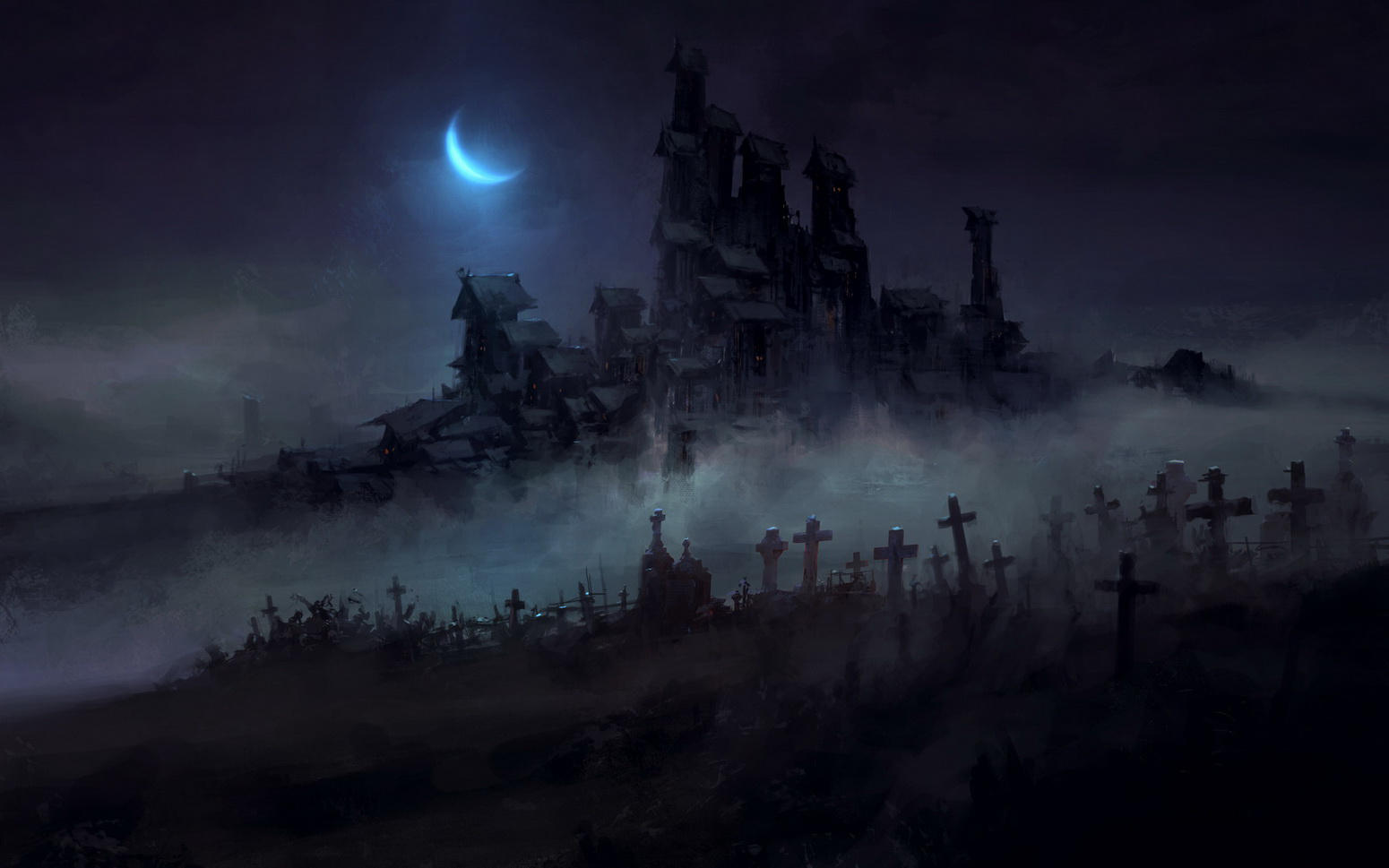 Dark Town by ChrisCold