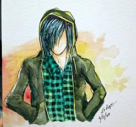 an ordinary emo boy  by sw-eden