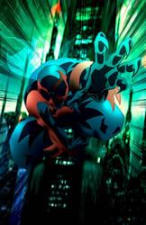 Spider-man 2099 by chadder96