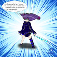 Don't Mess with Stocking by Cloud-Dream