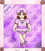 Dreamy Baby Card Polly by Cloud-Dream