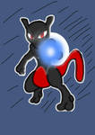 black mewtwo by gadgetgirl101