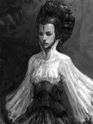 StarWar-Like Girl by liuyangart