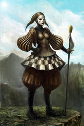 Tarot 0: The Fool by liuyangart