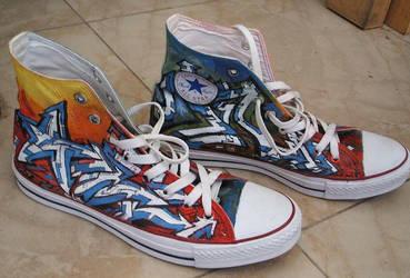 b6e9732c1753 CoNvErSeCuLt 6 0 My Converse Shoes by liuyangart