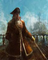pirate by liuyangart