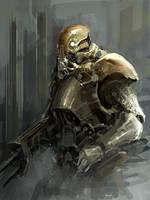 soldier 2 by liuyangart