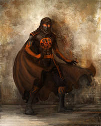 pagan priest by liuyangart