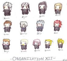 Chibi Organization XII by lizzi-chan
