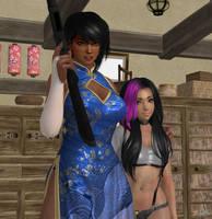 Slayers of Demon City 7:  Ashleigh and Taeko! by CharlesWS