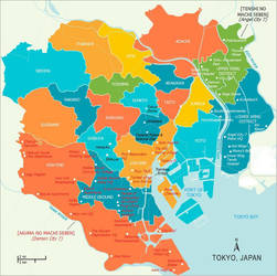 Slayers:  A Map of the Tokyo Metropolis! by CharlesWS