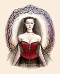 Elf Witch by dark777fairy