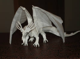 Ancient Dragon-Kamiya1 by origami-artist-galen
