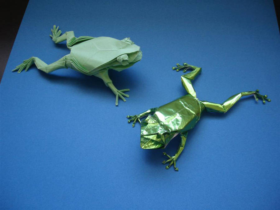 Treefrog 3.5 and 3.6 by origami-artist-galen