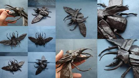 Atlas Beetle 2011 by origami-artist-galen