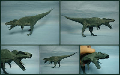Origami Giganotosaurus 2015 by origami-artist-galen