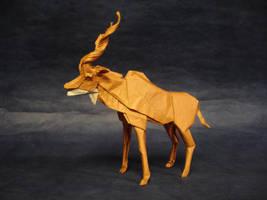 Origami Kudu 2015 by origami-artist-galen