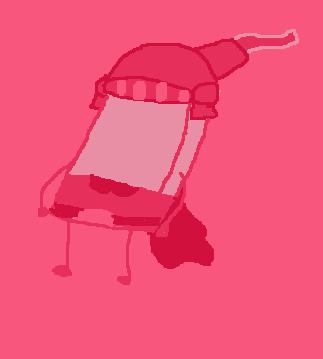 Bfdi Miitopia Eraser Color Scheme Hot Pink By Bfdimiitopia