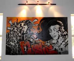 Music Mural by MFMugen