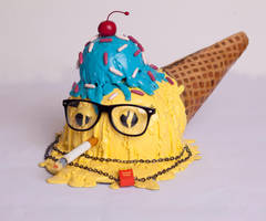 Hipster Cone Cap by MFMugen