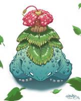 Pokemon- Venusaur by MFMugen