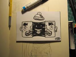 Inktober #12 Goo Head by MFMugen