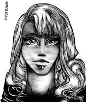 Narallla Lightning Hunter II Sketchbook by Hisyria