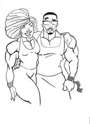 Big-couple by Ernest-Phillips