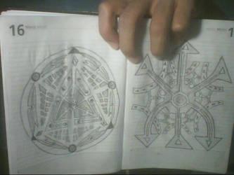 Geometrical drawings 1 by rodrigoayam