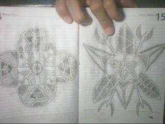 Geometrical drawings 2 by rodrigoayam