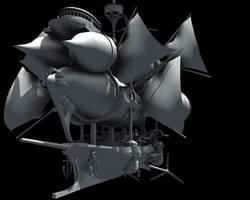 Condor AirShip V.2 Wip Front by Joncuki