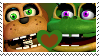 Nedd Bear x Happy Frog Stamp by KingKRool14
