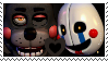 FNAF-Puppty Stamp by KingKRool14