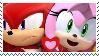 Sonic-Knuckamy Stamp by Fazbear14