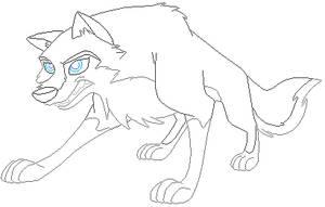 Wolf Base 3 by FeralHeartsFan